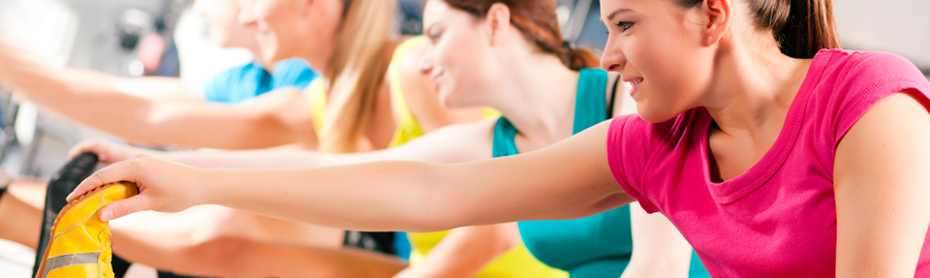 Exercise classes at the Antonine