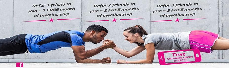 Refer Your Friends to the Antonine Family and Get Free Months!